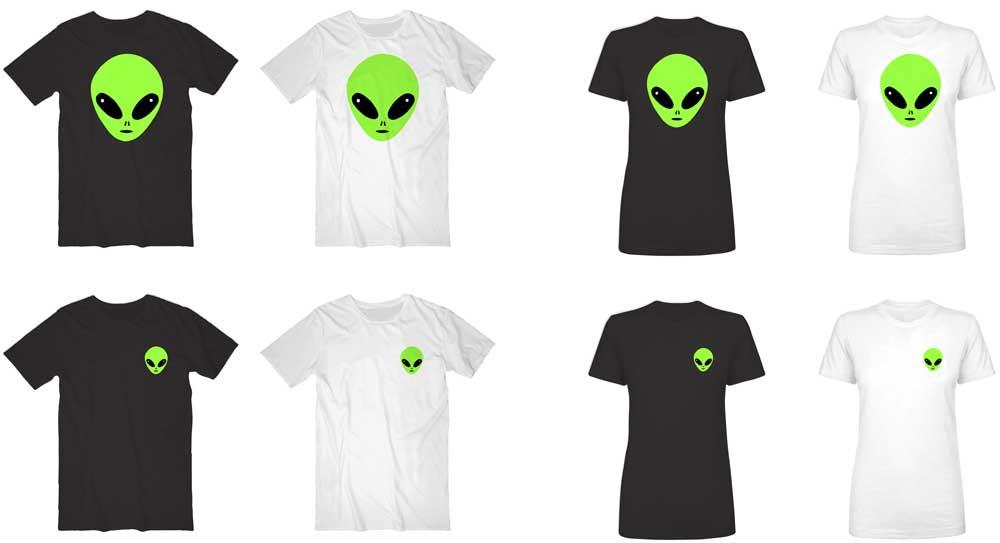 Alien-T-shirts-psychictwins